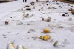 中国の道路がゴミだらけの理由