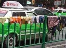 中国の洗濯物の干し方が無法すぎる