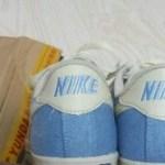 通販で買ったアンバランスなナイキの靴