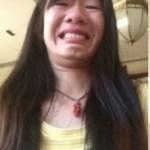中国の女の子の変顔