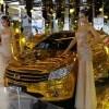 中国の田舎の成金らしい車