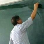 中国では美術担当でもないのに先生のデッサン力が半端ない