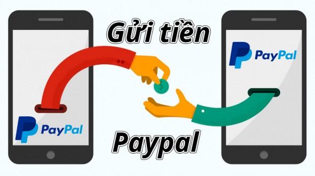 Hướng dẫn chuyển và nhận tiền USD trong tài khoản Paypal