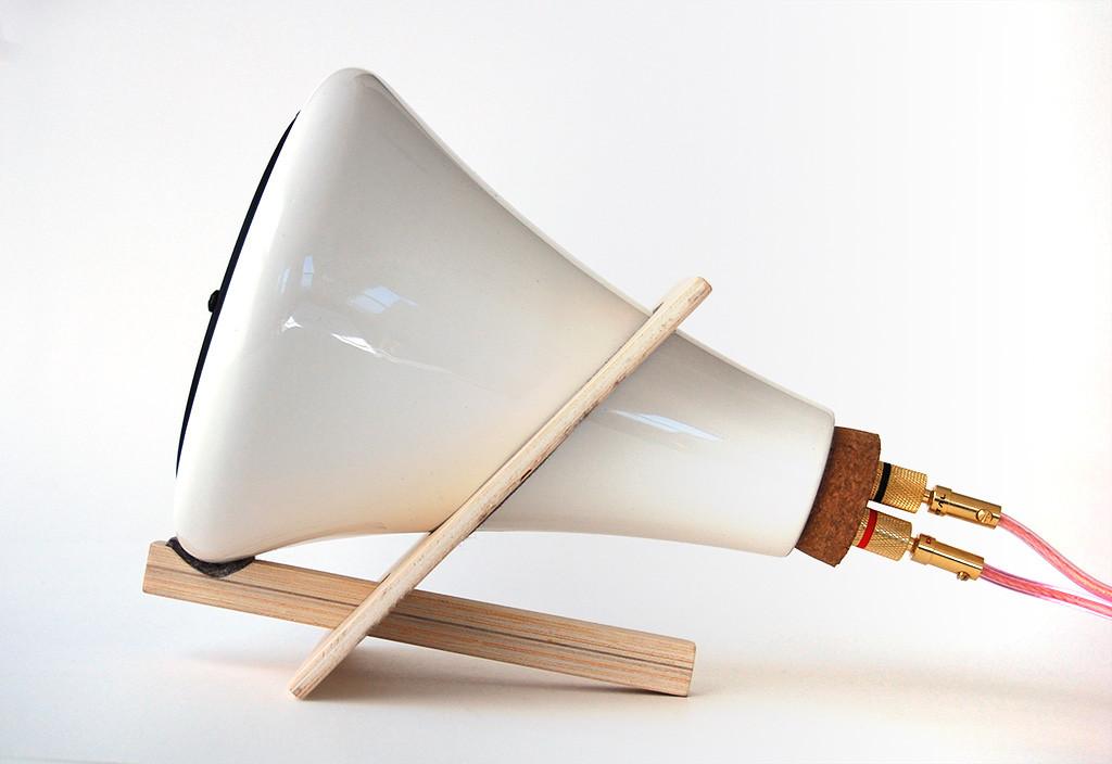 ceramic speakers/ Joey Roth