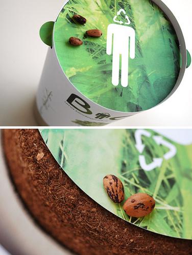 biodegradable urn/ bios urn