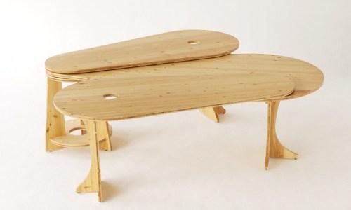 leaf desk by Tilt studio