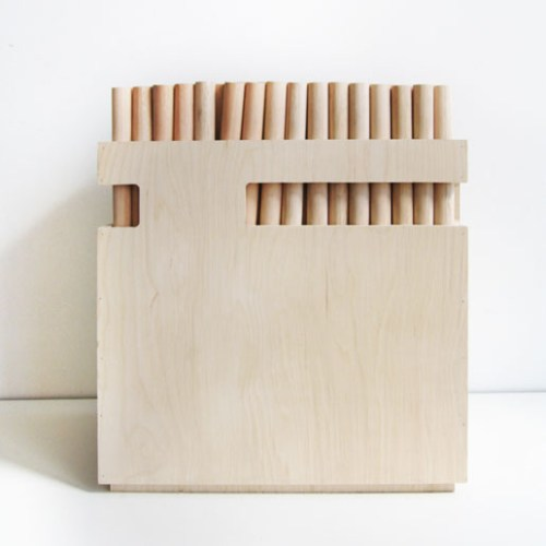 dowel chair/ organelle design