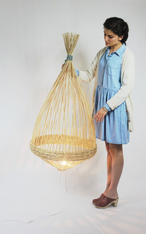 wicker light / Aurelie Richard
