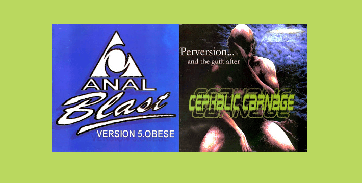 Anal blast cd covers