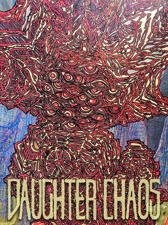Daughter Chaos Intergalactic Art