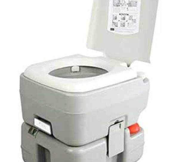 Serenelife Portable Camping Toilet Is Uniquely Designed To Withstand Harsh Environments It Comes With Its Carrier Bag A Feature Not