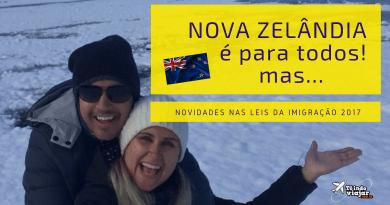 Mudança nas leis da imigração da Nova Zelândia 2017