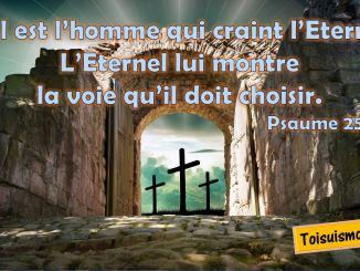 Psaume. 25.12