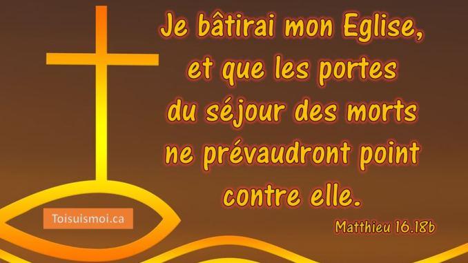 Matthieu 16.18b
