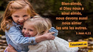 1 Jean 4.11