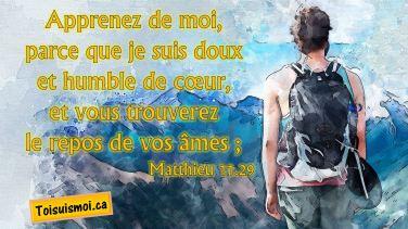 Matthieu 11.29