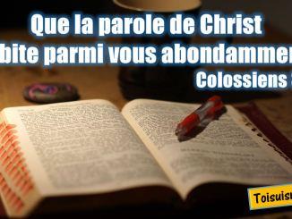 Colossiens 3.16