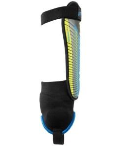 Uhlsport TIBIA PLATE PRO Benskinner black blue fluo yellow