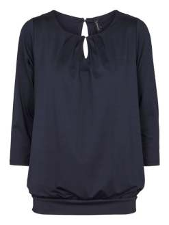 Intown Bluse 192-425 Navy