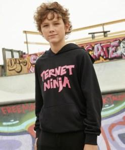 D-XEL Ternet Ninja Hoodie 1406020 Black