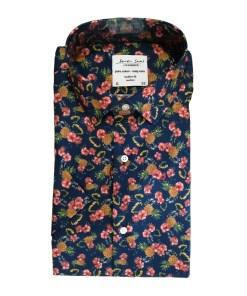 Seven Seas Skjorte Pineapple Kortærmet