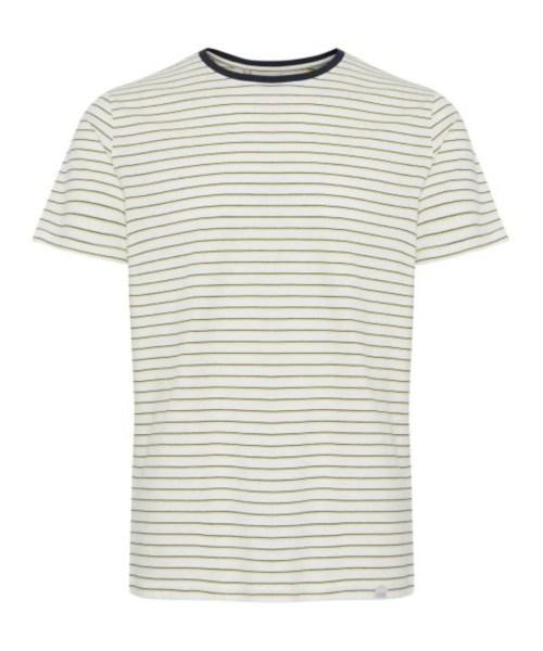 Casual Friday T-shirt Trinn Yellow Cream