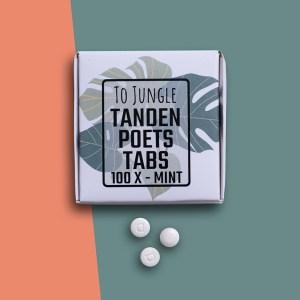 Tandenpoets-tabs ZONDER fluoride