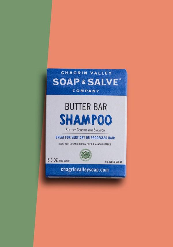 Solid shampoo bar conditioning