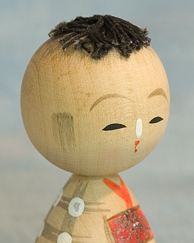 Kokeshi Japanese Wooden Doll Old Naruko Style Ningyo Japan Tokaido Softypapa Kimono Obi
