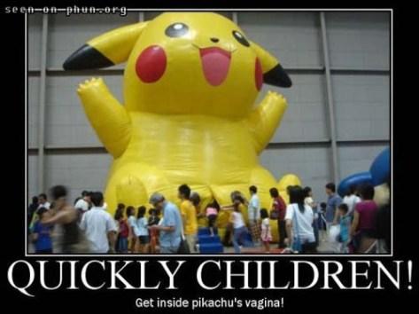 quickly-children-pikachus