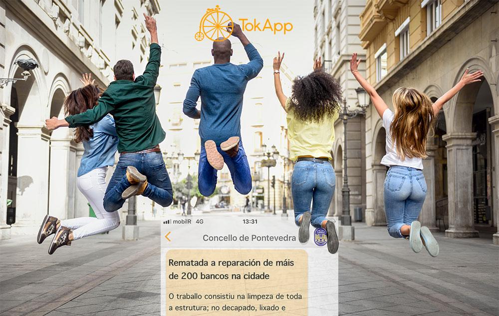 comunicacion ayuntamiento vecino tokapp pontevedra