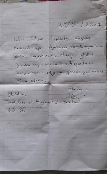 Başkan Özcan, Minik Ela'nın mektubuna duyarsız kalmadı