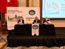 Başkan Özcan, Tarihî Kentler Birliği Meclisi Divan Kâtip Üyeliğine Seçildi