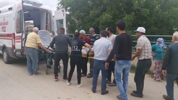 Sulama kanalına uçan motosiklet sürücüsü hayatını kaybetti