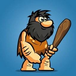 Bob The Caveman - 2D Character Sprite