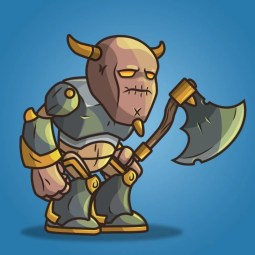 Castle Guard - 2D Character Sprite