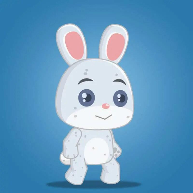 The Cute Rabbit Boy - 2D Character Sprite