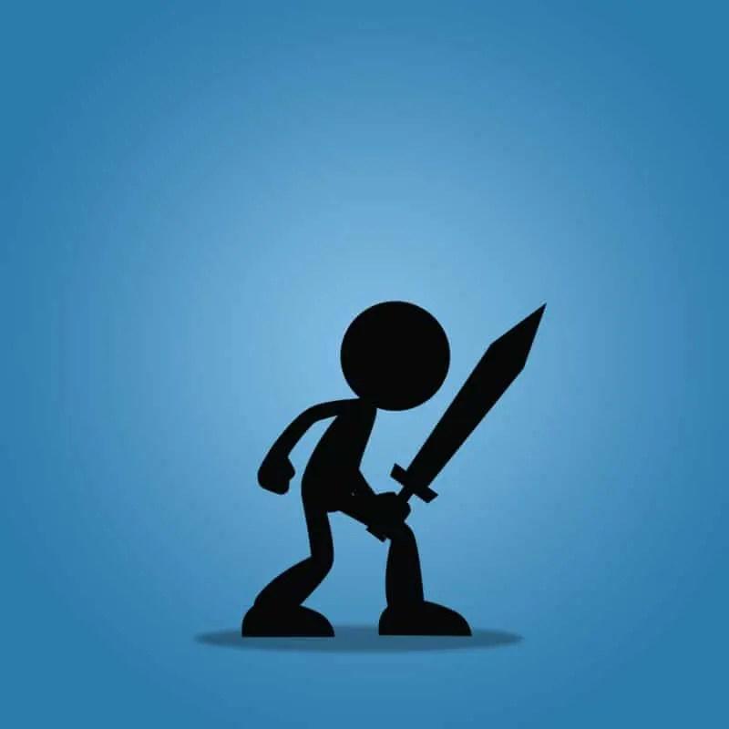 Stick Swordman - Free 2D Character Sprite