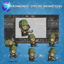 Tiny Army Sam - Brashmonkey Spriter Animation