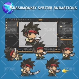 Tiny Guy Arnold - Brashmonkey Spriter Animation