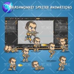 Brock From The Metro Squad - Brashmonkey Animation