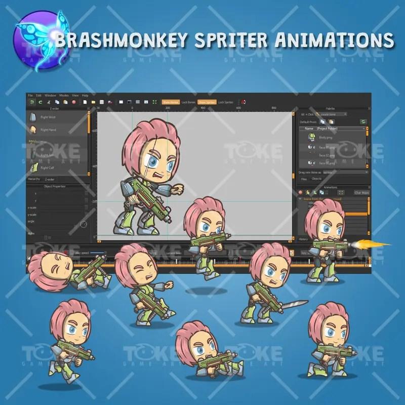 Joana From The Metro Squad - Brashmonkey Animation