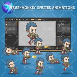 Joe From The Metro Squad - Brashmonkey Spriter Animation
