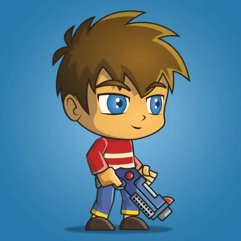 Good Boy - 2D Character Sprite