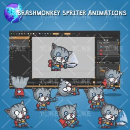 Super Cat - Brashmonkey Spriter Animation