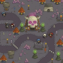 Dungeon Top-Down Game Platfromer - 2D Tower Defense Game