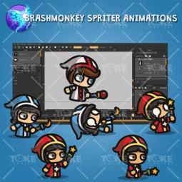 Priest - Tiny Style Character - Brashmonkey Spriter Animations