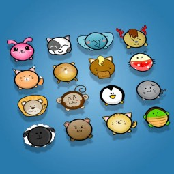 Cute Animal Icon Pack - 2D Game Icon