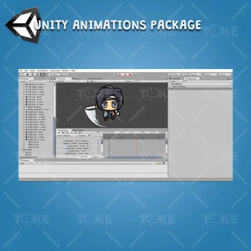 Ryu - Unity Animation Ready