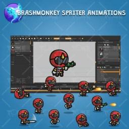 Tiny Ranger 02 - Brashmonkey Spriter Character Animation